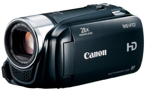 Canon デジタルビデオカメラ iVIS HF R21 ブラッ...