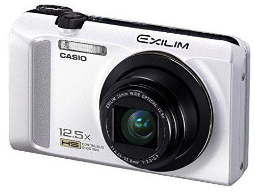 CASIO デジタルカメラ EXILIM EX-ZR200 ホワイト ...