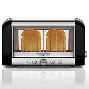 Magimix Colored Vision Toaster: Black by MagiM...