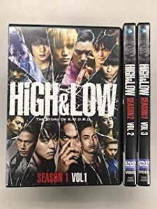 HiGH & LOW SEASON 2 【レンタル落ち】全3巻セッ...