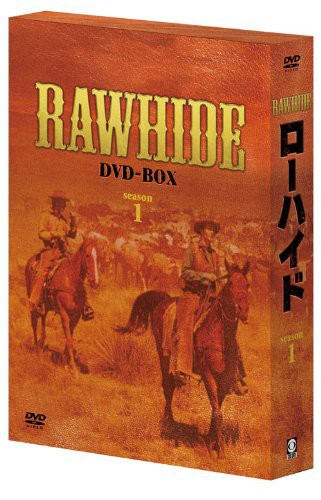 ローハイド シーズン1 DVD-BOX(中古品)