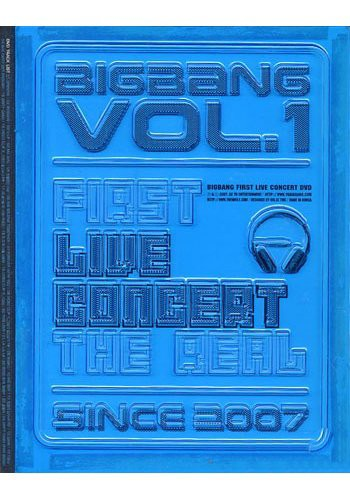 BIGBANG 1st LIVE DVD/THE REAL SINCE2007 [韓国...