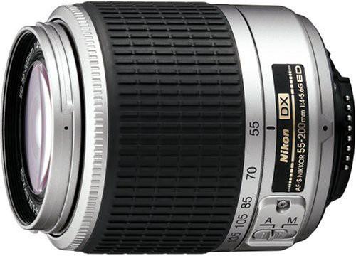 Nikon AF-S DX ズームニッコール ED 55-200mm F4-...