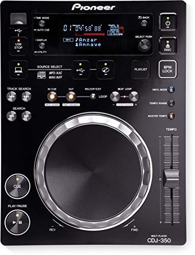 Pioneer DJ用CDプレーヤー ブラック CDJ-350(中古...
