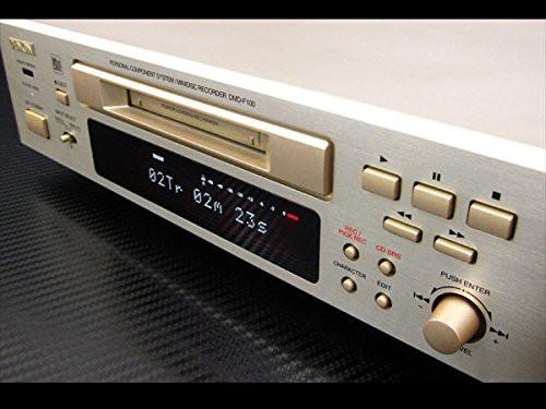 DENON デノン D-F100 DMD-F100 MDレコーダー(中古...