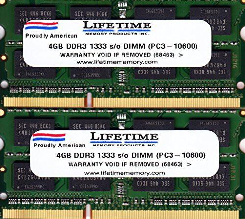 新しい2?x 4gb 8?GB ddr3???1333?pc3???10600メモ...
