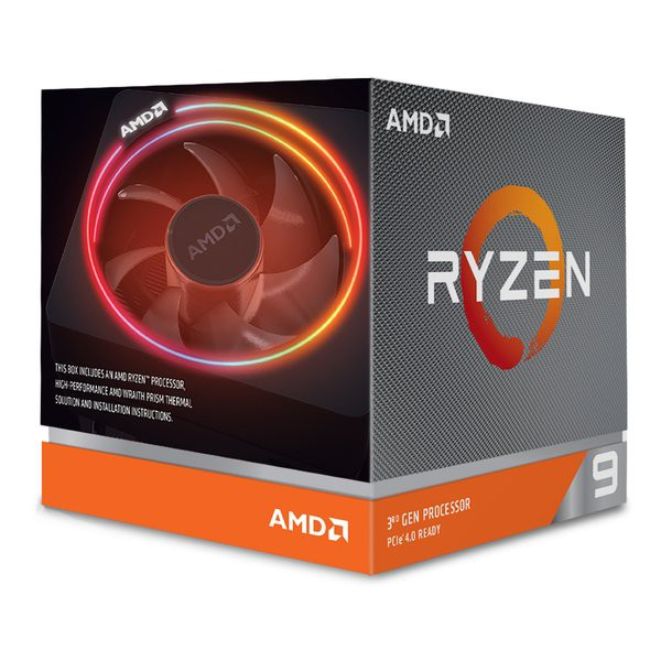 AMD エーエムディー Ryzen 9 3900X With Wraith P...