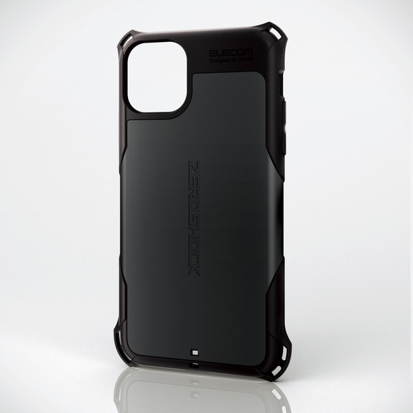 ELECOM エレコム iPhone11ProMax用 ZEROSHOCK ス...
