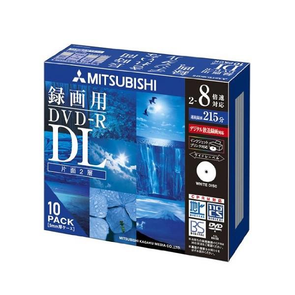 Verbatim  バーベイタム 8倍速DVD-R DL 録画用10...