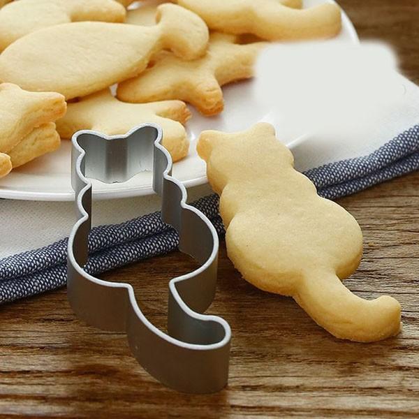 クッキー抜き型 ねこ 製菓 お菓子作り 送料無料