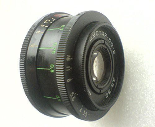 Industar 50-2 50 / 3.5 50mm黒ロシアソ連ソ連レ...