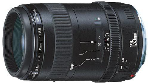 Canon EFレンズ EF135mm F2.8 単焦点レンズ 望遠(...