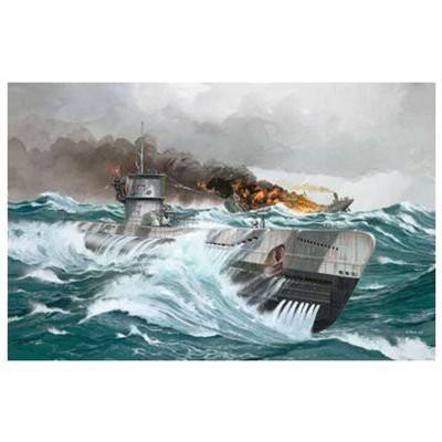 ドイツレベル 1/144 Uボート TypeVIIC 05038 プラ...