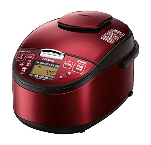 日立 圧力スチームIH炊飯器 5.5合 レッド RZ-SG10...
