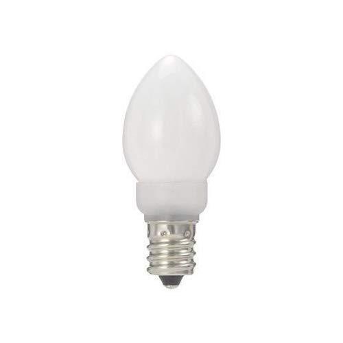 ヤザワ ローソク形LEDランプ電球色 口金直径12mm ...