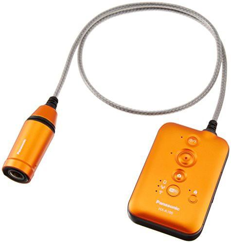 パナソニック ウェアラブルカメラ オレンジ HX-A1...