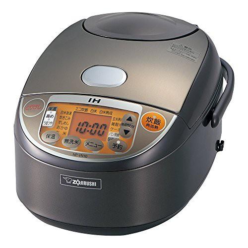 象印 炊飯器 IH式 極め炊き 5.5合 ブラウン NP-VN...
