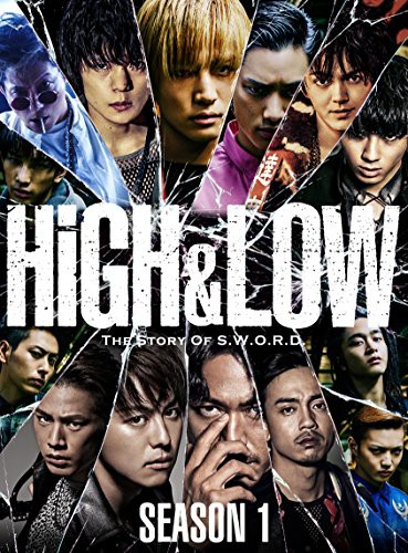 HiGH & LOW SEASON 1 完全版 BOX(DVD4枚組)(中古...