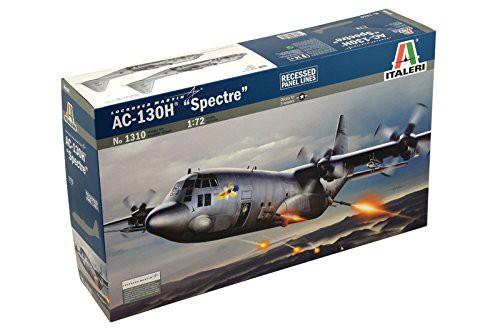 AC-130H Spectre Gunship Aircraft 1/72 Italeri ...