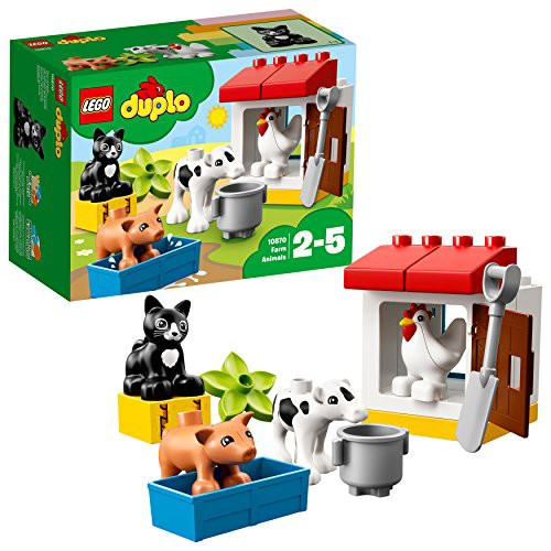 レゴ(LEGO) デュプロ ぼくじょうのどうぶつたち 1...