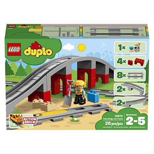 レゴ(LEGO)デュプロ あそびが広がる! 鉄道橋とレ...