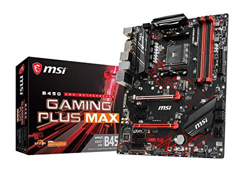 MSI B450 GAMING PLUS MAX ATX マザーボード MB48...