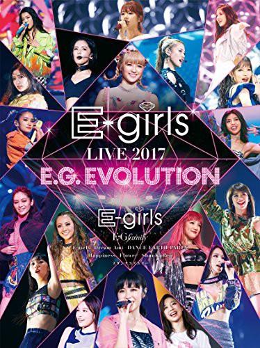 E-girls LIVE 2017 ?E.G.EVOLUTION?(Blu-ray Disc...