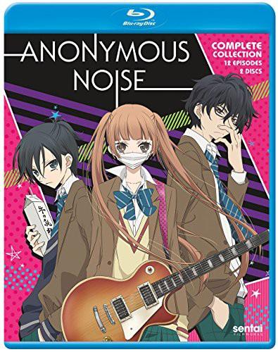 ANONYMOUS NOISE Blu-Ray(覆面系ノイズ 全12話)(...