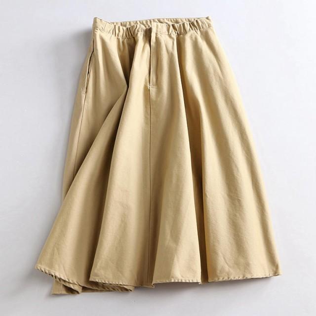 カジュアルで使いやすいチノスカート