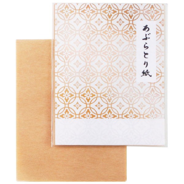 あぶらとり紙10枚(ラベル入)B (12001)