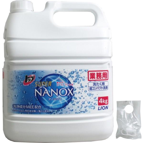 業務用 トップ スーパーナノックス NANOX 4Kg