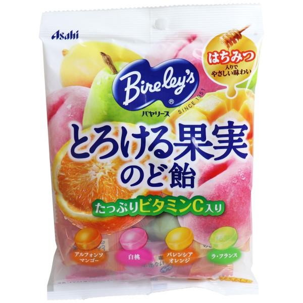 バヤリース とろける果実 のど飴 120g入