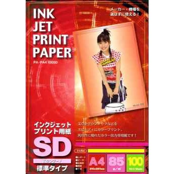 インクジェット用紙SD A4 100枚 (PA-PA4100SD)
