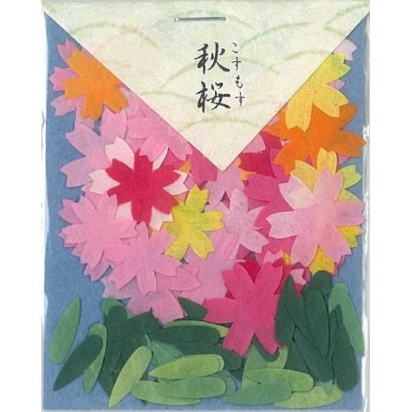 #50 秋桜 80050貼り絵