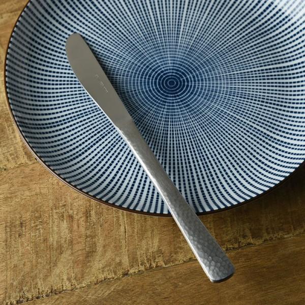 なごみ槌目和風カトラリー デザートナイフ