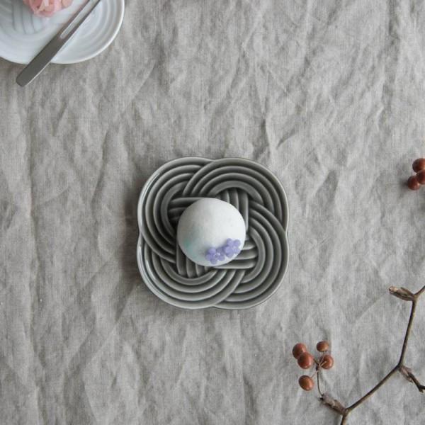 小田陶器 結(musubi) 10.8cm小皿 墨