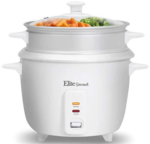 Elite Cuisine ERC-003ST Maxi-Matic 6 Cup Rice ...