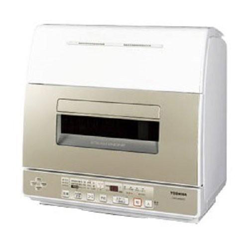 東芝 食器洗い乾燥機 卓上型 DWS-600D(中古品)