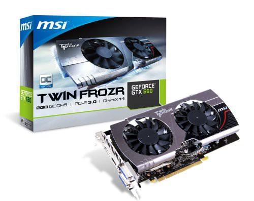 MSI GeForce GTX660 搭載ビデオカード オーバーク...