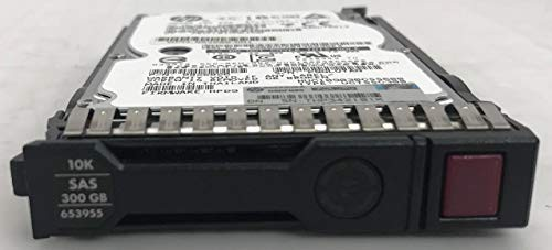 653955-001-SC HP G8 G9 300-GB 6G 10K 2.5 SAS S...