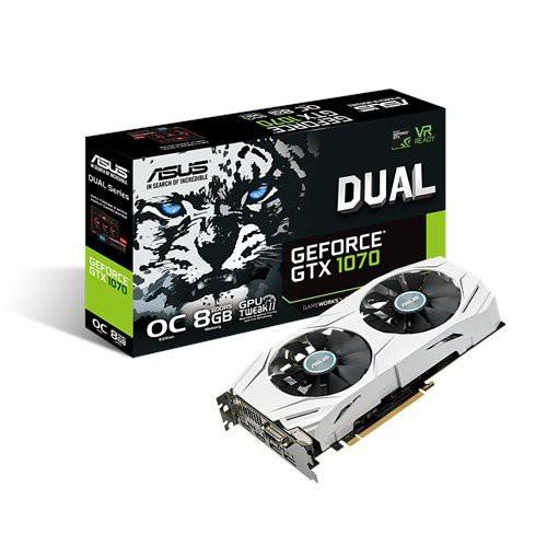 ASUS NVIDIA GeForce GTX1070搭載ビデオカード オ...
