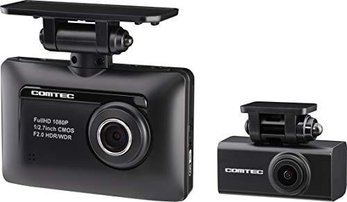 コムテック 前後2カメラ ドライブレコーダー ZDR-...