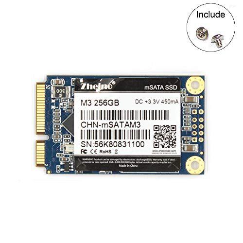 Zheino M3 内蔵型 mSATA 256GB SSD (30 * 50mm) m...