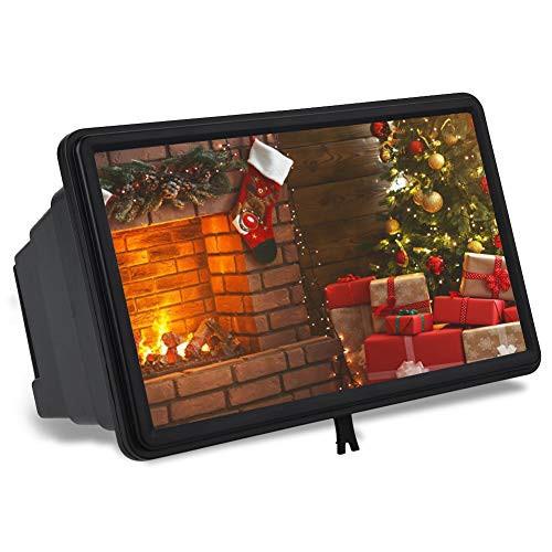 VBESTLIFE スクリーン拡大鏡 目を保護 3倍 HD 携...