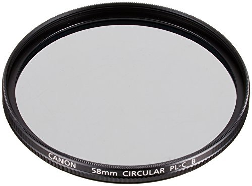 Canon カメラ用円偏光フィルター PL-C B 58mm(未...