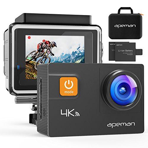 【新型4K/30FPS】APEMAN A80 アクションカメラ 4K...