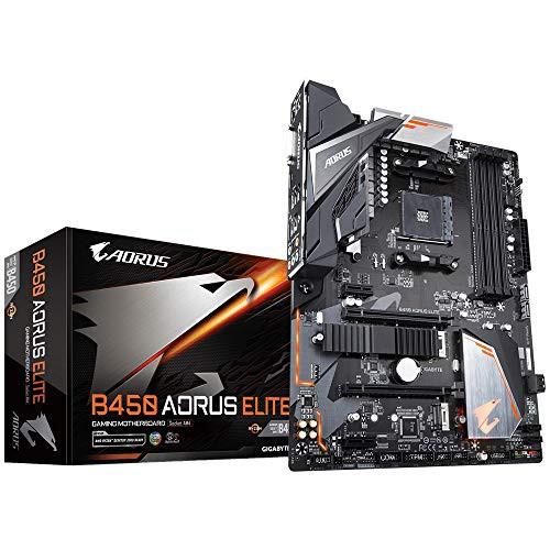 Gigabyte B450 Aorus Elite Motherboard AMD B450...