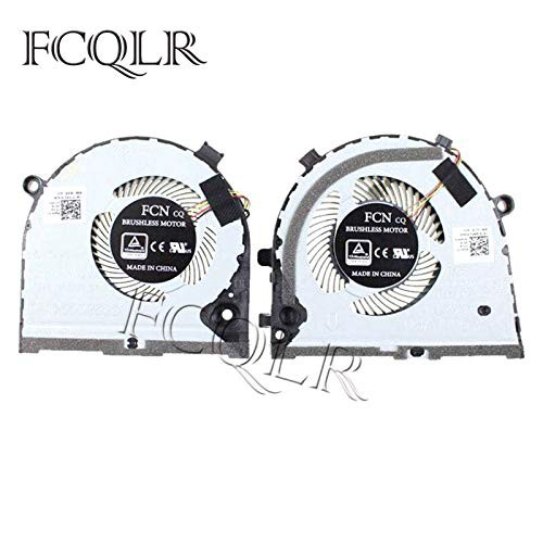 FCQLR ノートパソコン 冷却 ファン 用 Dell inspi...