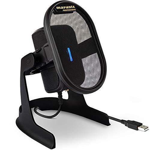 マランツプロ USB コンデンサーマイク ポップフィ...