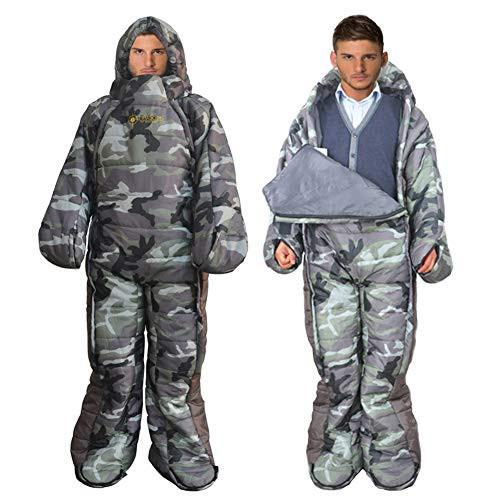 MAXSOINS公式ショップ 着る寝袋 人型 動ける寝袋 ...